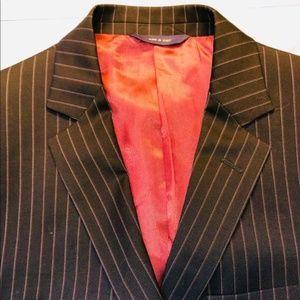 Brooks Brothers Fitzgerald pinstripe suit coat 41R